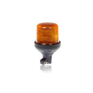 Beacon Ambre 10 DEL ProSignal, montage avec embase hampe
